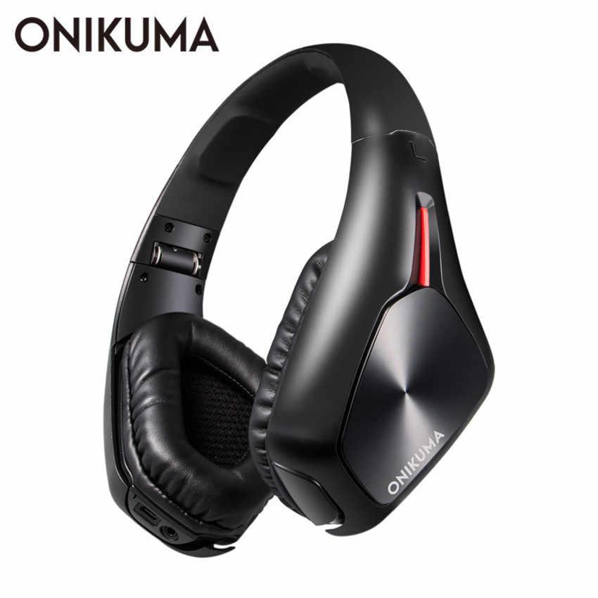 Onikuma B1 Bluetooth Wireless Headphones With Microphone Over Ear Bluetooth 4 1 Stereo Music Headset For Iphone Samsung Mp3 Aliexpress
