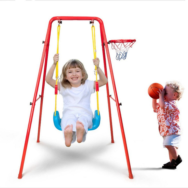 Mother & Kids Bouncers,jumpers & Swings Activity & Gear Mother & Kids Indoor Outdoor Swing Hanging Chair Childrens Rope Swing Alloy+plastic
