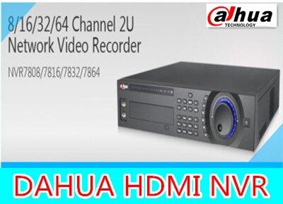 DAHUA 8ch/16ch/32ch NVR DAHUA 1080P/720P/D1 support 8HDD with 1 E-sata NVR7808/NVR7816/NVR7832,Free DHL shipping