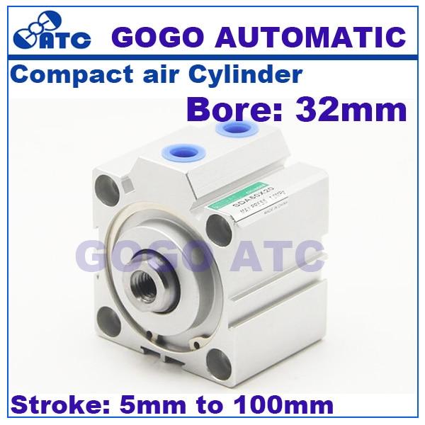CILINDRO ARIA PNEUMATICO CILINDRO CILINDRO aircylinder SDA 25x50 mm etsda 25x50