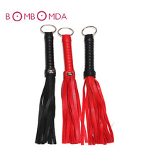 BDSM bondage Sex Toys For Couples PU Leather flogger SM Bondage Sex Whip Flogger BDSM Slave Whip Spanking Butt Adult Games