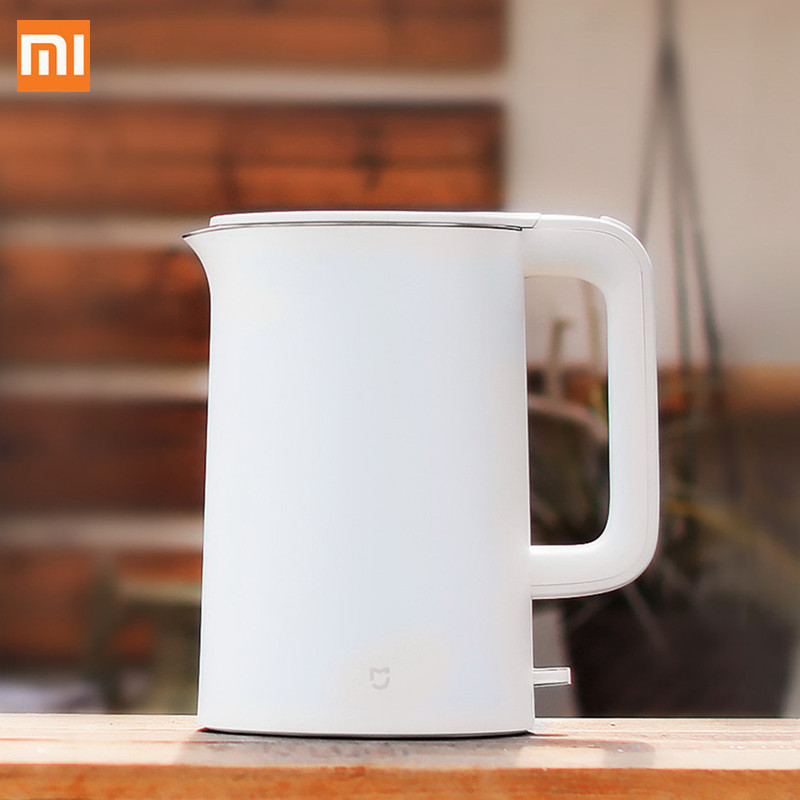Xiaomi Mijia 1.5L Electric Water Kettle Auto Power-off Protection Wired Handheld Instant Heating Electric KettleXiaomi Mijia 1.5L Electric Water Kettle Auto Power-off Protection Wired Handheld Instant Heating Electric Kettle