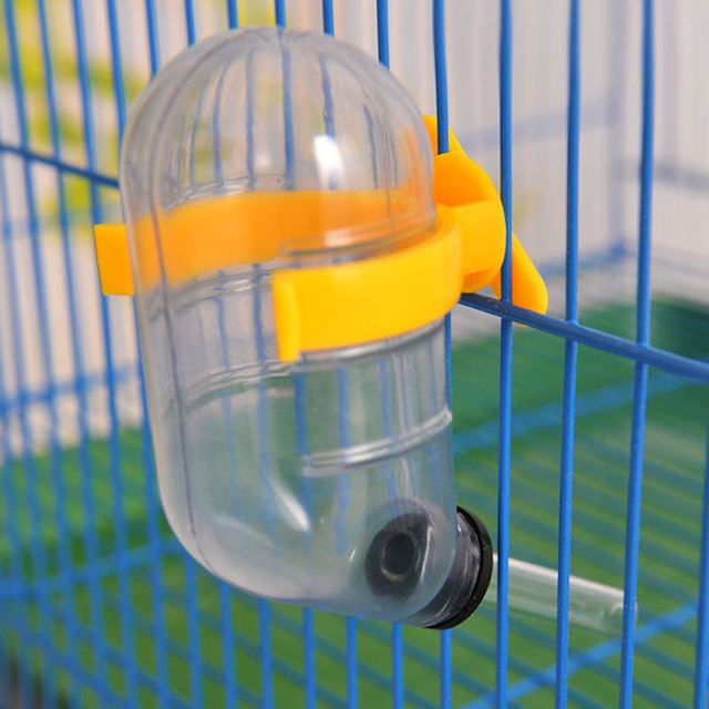 1pc 50ml Cage Hanging Plastic Mouse Squirrel Hamster Water Drinking Dispenser  1