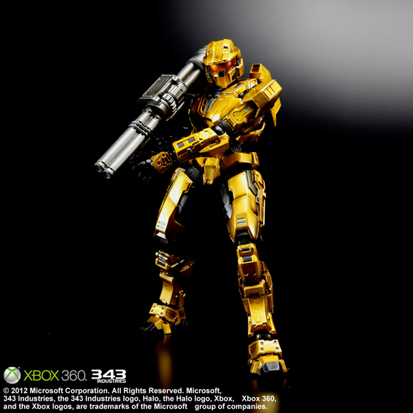 Halo Reach,Ghrepower halo combat evolved spartan mark v gold