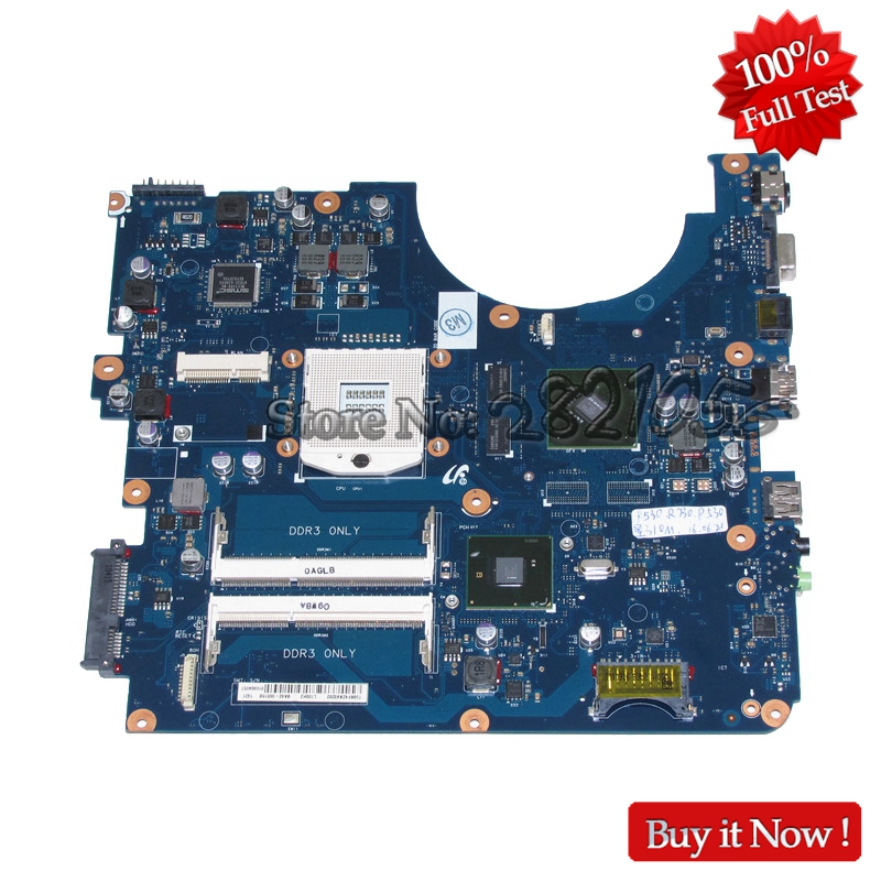 NOKOTION For Samsung R780 R728 Laptop Motherboard HM55 GT310M BA41-01174A BA41-01175A BA41-01176A BA92-06515A BA92-06515B nokotion for samsung r530 laptop motherboard ba92 06346a ba92 06346b ba41 01227a pm45 gt310m ddr3