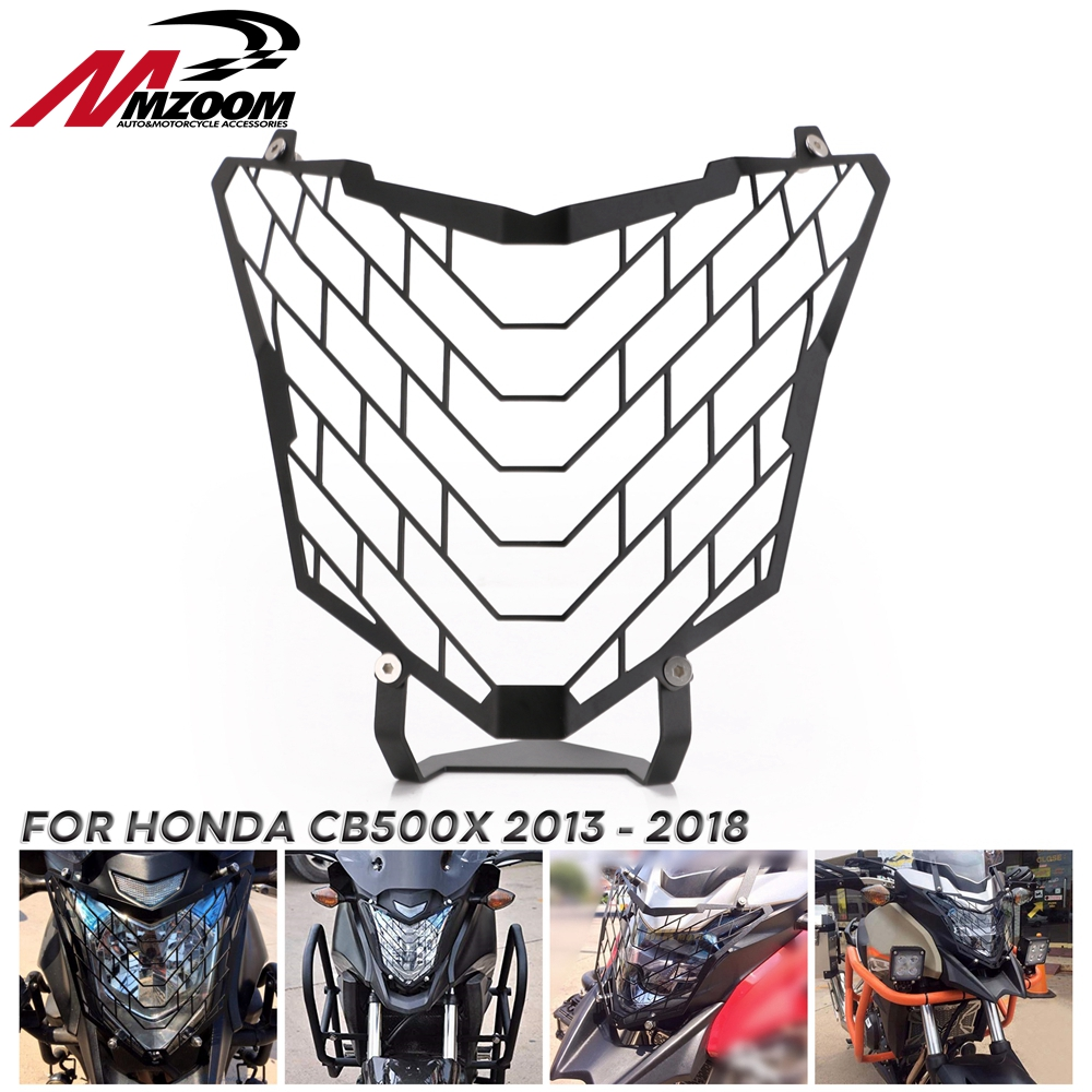 Motorcycle Headlight Head Lamp Light Grille Guard Cover Protector For <font><b>Honda</b></font> <font><b>CB500X</b></font> 2013 2014 2015 2016 2017 <font><b>2018</b></font> image
