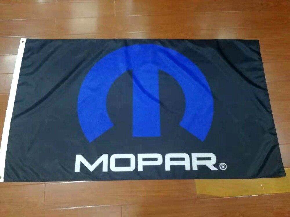 Флаг mopar 90x150 см