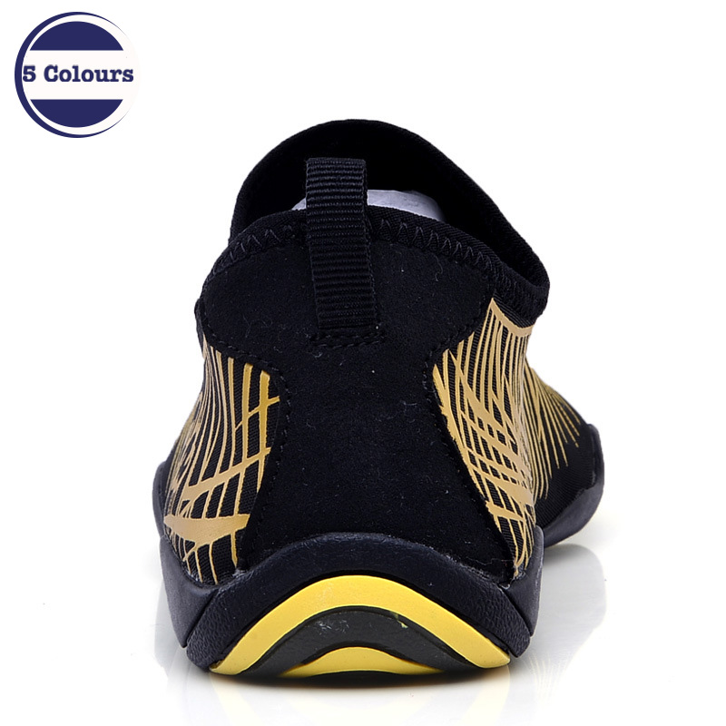 New Summer Couple Beach Quick Dry Barefoot Skin Care Shoes Wading Snorkeling Surfing Swimming Water Snorkeling Shoes in Men 39 s Sandals from Shoes