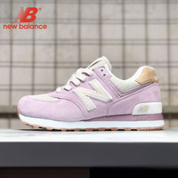 zapatillas NB Shoes New Balance 574 Retro Sneakers Women Shoes zapatos de mujer Running Shoes light Breathable Sports Shoes
