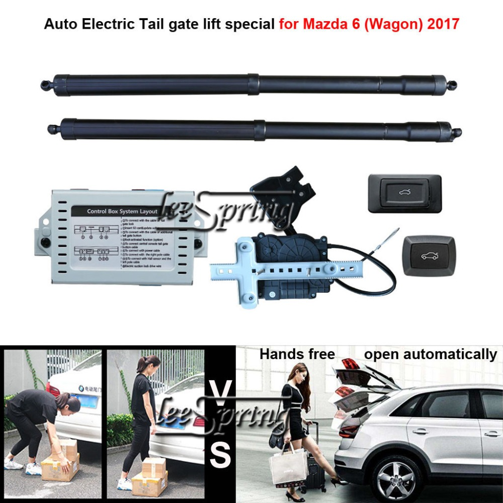 Car Electric Tail gate lift special for <font><b>Mazda</b></font> <font><b>6</b></font> (<font><b>Wagon</b></font>) 2017 Easily for You to Control Trunk image