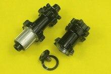 Super Light MTB XC AM Powerway straight pull disc lefty hubs front 74mm rear 142mm X12 thru Shim. 10/11s or XX1 XD 24 28 holes