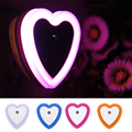 1PCS New Fashion LED Night light 4 Colors Novelty Bed Lamp For Baby Bedroom Gift Romantic Colorful Lights Drop Shipping