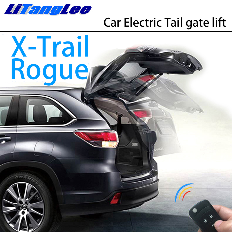 LiTangLee Car Electric Tail Gate Lift Trunk Rear Door Assist System For Nissan X-Trail Xtrail Rogue T32 2013~2019 Remote Control