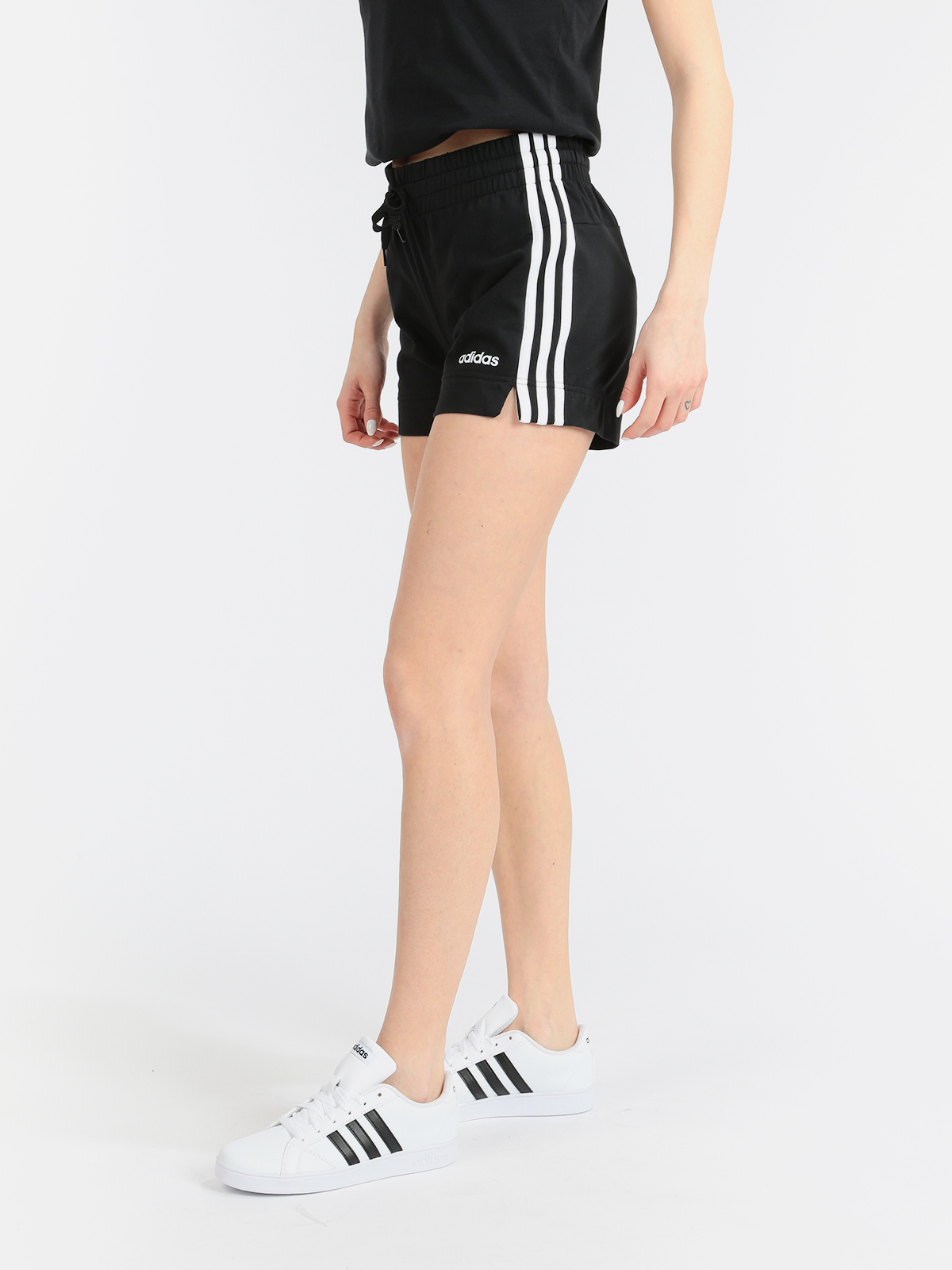 Shorts Essentials 3 Stripes-sports Shorts Black
