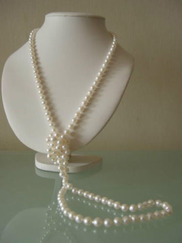 цена на classic 9-10 mm natural round south sea white pearl necklace 38 inch 14k