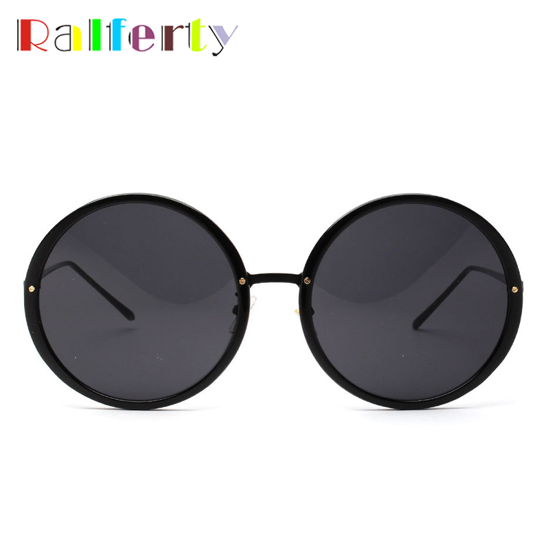 8736c6222bf Ralferty Oversized Sunglasses Women Candy Sun Glasses Round Pink  Transparent Glasses Female Big Face Anti UV Eyewear Oculos A927-in  Sunglasses from Apparel ...