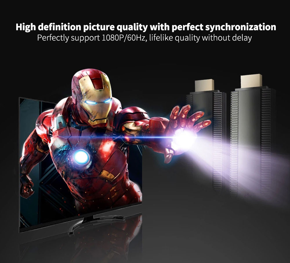2018 Wireless WiFi Display Streaming Media Player 1080P HDMI HDTV for IOS 9 Android Wireless WiFi Media Player A.19