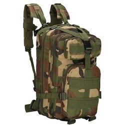 Plecak szturmowy plecak taktyczny na zewnątrz plecak wojskowy Army Camo plecak szturmowy plecak sportowy torby podróżne górskie w Torby wspinaczkowe od Sport i rozrywka na