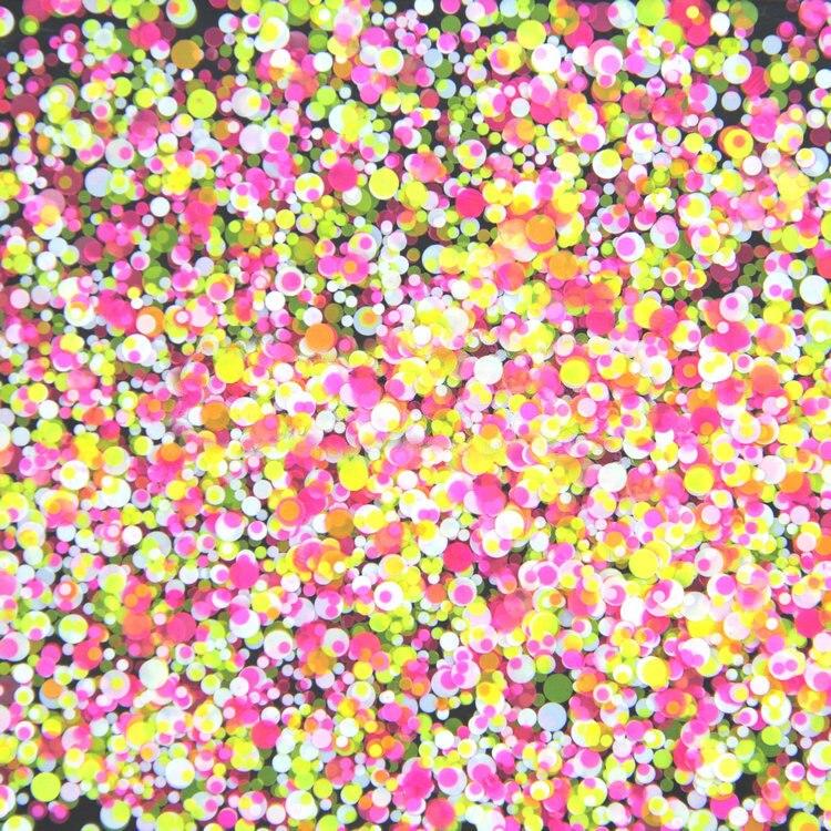 500 Gramm/los 1mm2mm3mm Gemischt Gelbe Rose Weiß Runde Dot Runde Nagel Glitter Runde Ultradünne Pailletten Nail Art Dekoration Ymp-03 Rabatte Verkauf Nails Art & Werkzeuge Schönheit & Gesundheit