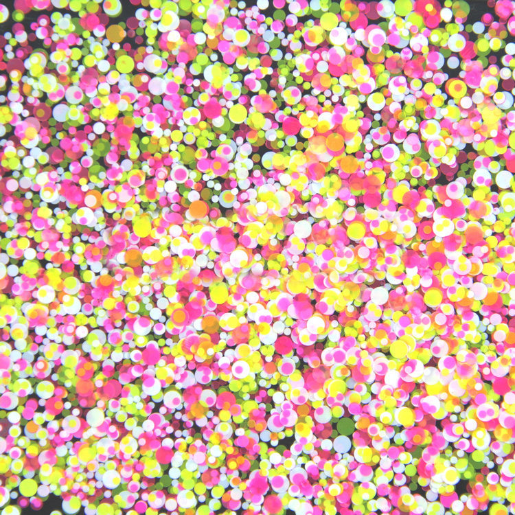 500Gram/lot 1mm2mm3mm Mixed Yellow Rose White Round Dot Round Nail Glitter Round Ultrathin Sequins Nail Art Decoration YMP-03 round up 1 2 3