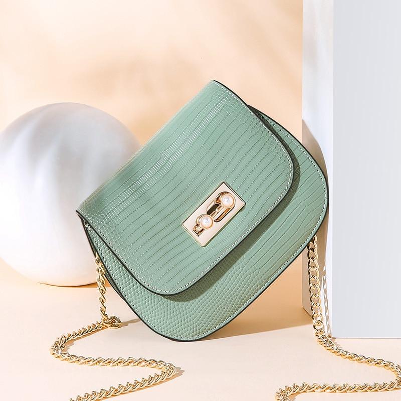 Mode Sattel Split Leder Runde Tasche Umhängetaschen Für Frauen Luxus Handtaschen Frauen Taschen Designer Mini Schulter Tasche sac - 2