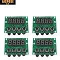 4 adet 54x3 w 18x12 w 24x12 w 12x12 w LED PAR anakart Voltaj 12-36 V par led rgbw 4in1 Sabit Akım Anakart 4/8 Kanal