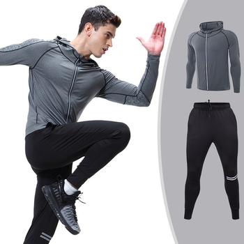 Running clothes fitness active Suit Set