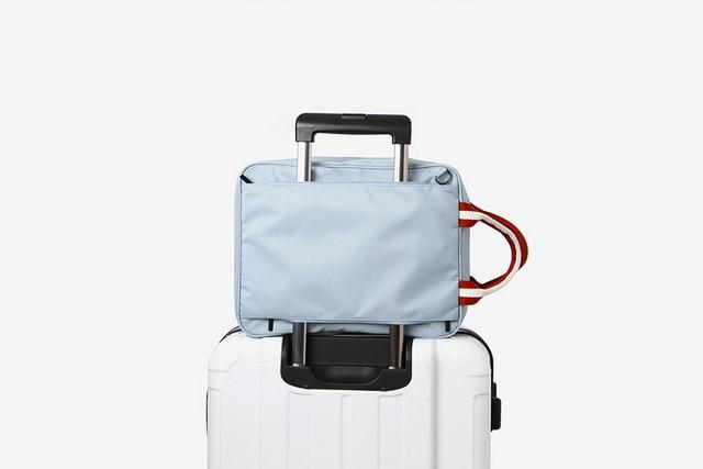 2016 nova moda mulheres homens saco de viagem no ombro saco de grande capacidade de curta distância
