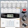 Русский Английский Испанский Французский Проводной и Беспроводной ЖК Главная Безопасность GSM сигнализация 850/900/1800/1900 МГц