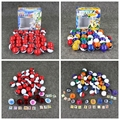 Play Set PVC Figure Toys 1set=36pcs Pokeballs + 36 Poke Figure Toys + 72pcs Poke Cards Best Christmas Gift For Kids