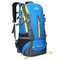 Water Repellent Oxford Cloth Shoulder Bag For Travel Hiking Camping Backpack 45L Outdoor Women Men Unisex