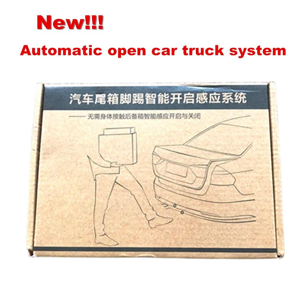 DHL plus récent!!! Commande d'action de coup de pied ouvrir/fermer le coffre de voiture démarrage intelligent système de capteur d'ouverture automatique boîte arrière automatique