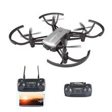 Foldable Drone 720P Wide-Angle HD Camera High Hold Mode Drone Selfie Altitude Hold 6-Axis Gyro Quadcopter Toy Best Gifts