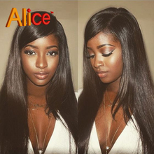 9A Straight Brazilian Virgin Hair Full Lace Wigs Glueless Lace Front Human Hair Wigs Full Lace Human Hair Wigs For Black Women