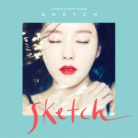 HYOMIN 2ND MINI ALBUM - SKETCH  + 2 Photocards Release Date 2016-03-18 KPOP ALBUM bigbang 2016 welcoming collection release date 2016 03 02 kpop album
