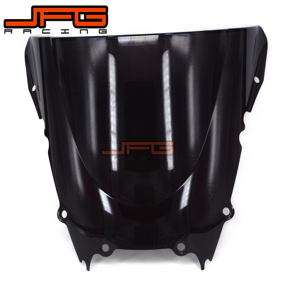 Black Windscreen Windshield For Yamaha YZF 600 YZF R6 YZF600 YZF-R6 1998-2002 1998 1999 2000 2001 2002 Motorcycle hot sales yzf600 r6 08 14 set for yamaha r6 fairing kit 2008 2014 red and white bodywork fairings injection molding