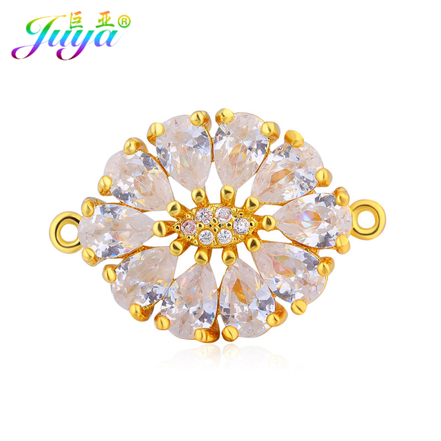 Wholesale DIY Jewelry Findings Supplies GoldRose Gold Decorative
