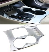 ABS Chrome Matt Water Cup Glass Decoration Trim Cover 1pcs For Toyota Highlander 2014 2016