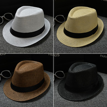 Parenting Fund Panama Solid Color Sir Hat Child England Small Formal Hat Men And Women