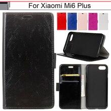 Чжурчжэней case для xiaomi mi6 плюс case/mi 6 плюс силиконовые Держатель роскошный Кошелек Кожаный Откидной Крышки Для Xioami Ми-6 Плюс Xiomi 44