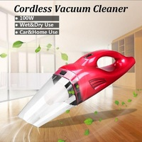2019 Car Vacuum Cleaner 12V 100W Dry Wet Dual Used Hand Held Rechargeable Cyclonic Vacuum Cleaner Partable for Home Appliances