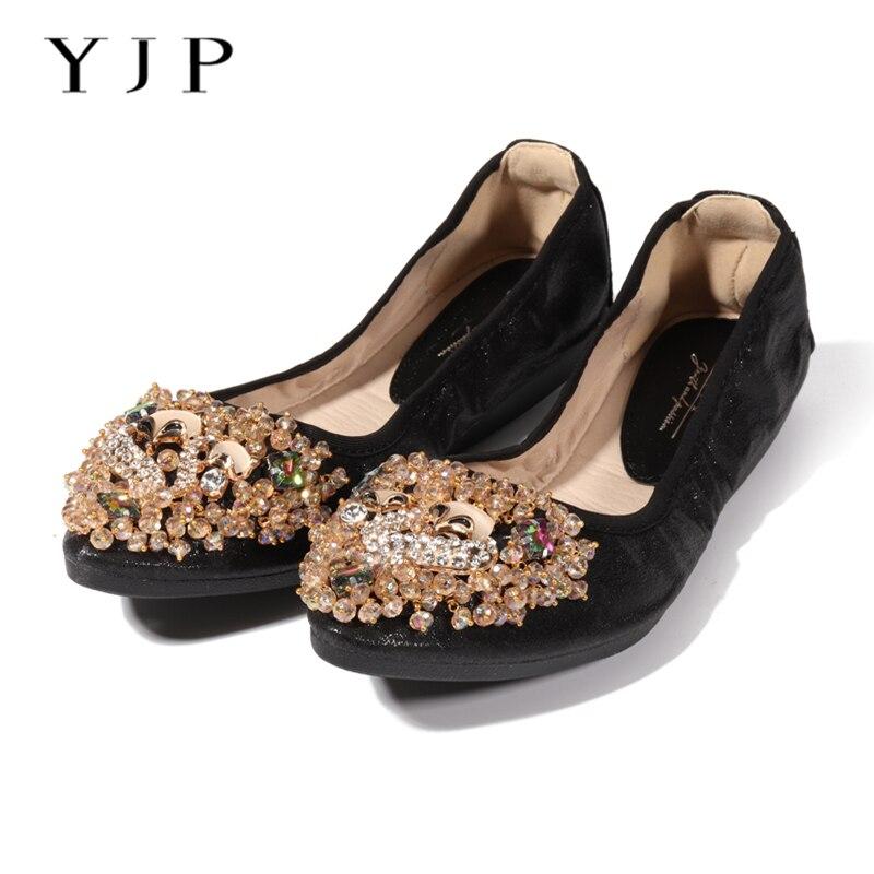 YJP Women Ballet Princess Flat Shoes 011070c0447d