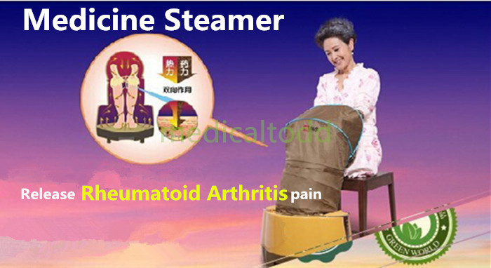 Release Rheumatoid Arthritis Barbier Pain Medicine Steamer for Medical Use Feet Legs Knees Hands Joints Illnesses Curing Machine new techniques for early diagnosis of rheumatoid arthritis