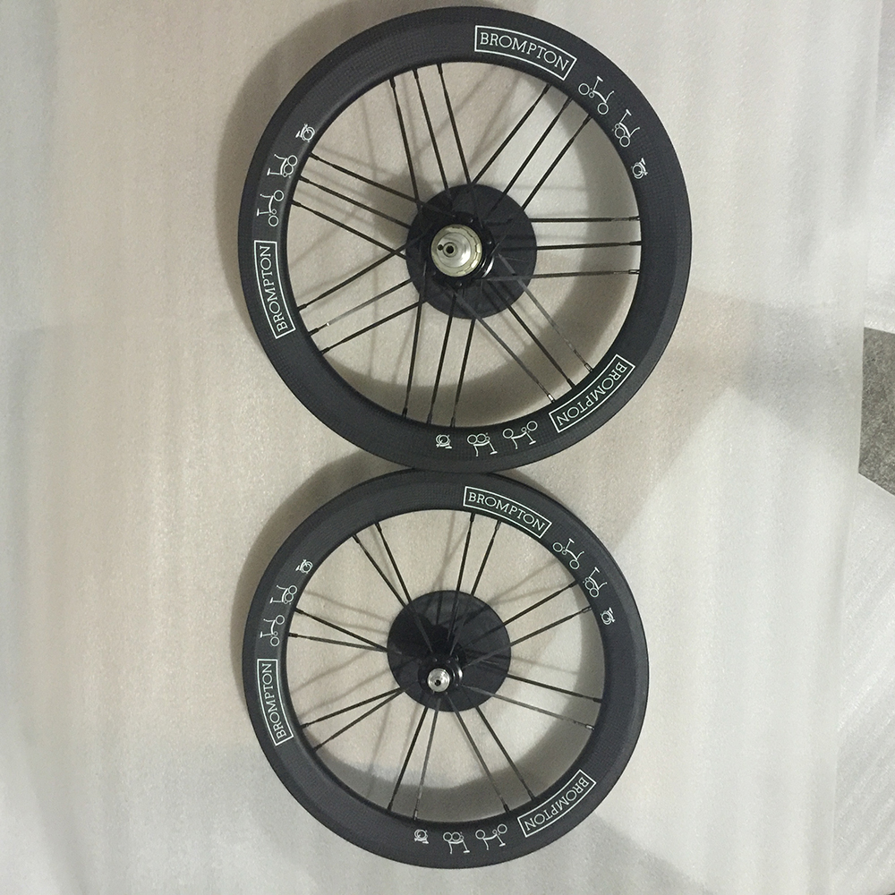Sema t800 brompton 16 inch 349 carbon rims with stumery 5 for Bicycle rims