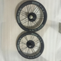 SEMA T800 brompton 16 inch 349 carbon rims with stumery 5 speed SRF5 carbon heelset 2320g best quality bicycle parts