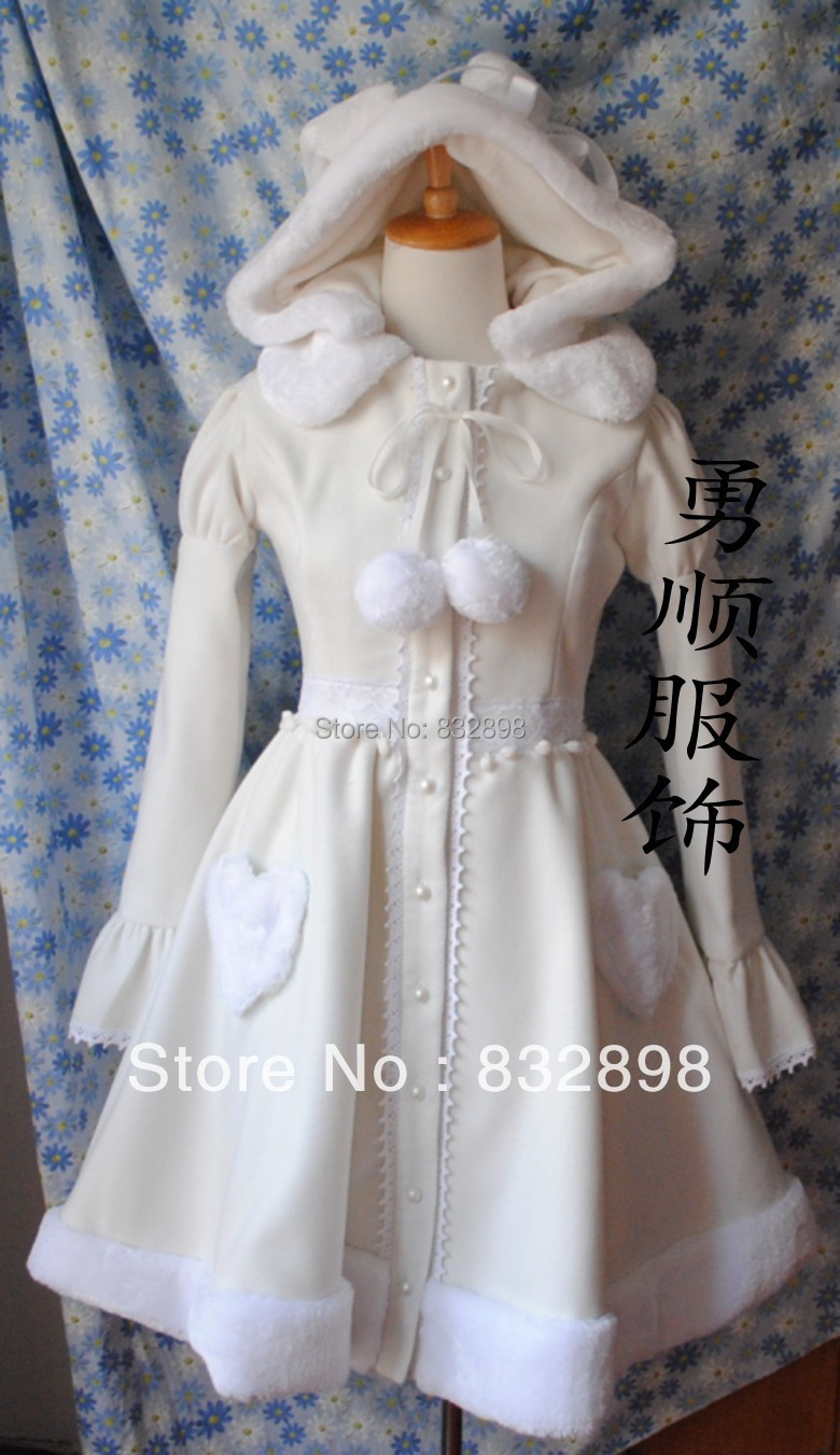 Popular Girls White Winter Coat-Buy Cheap Girls White Winter Coat ...
