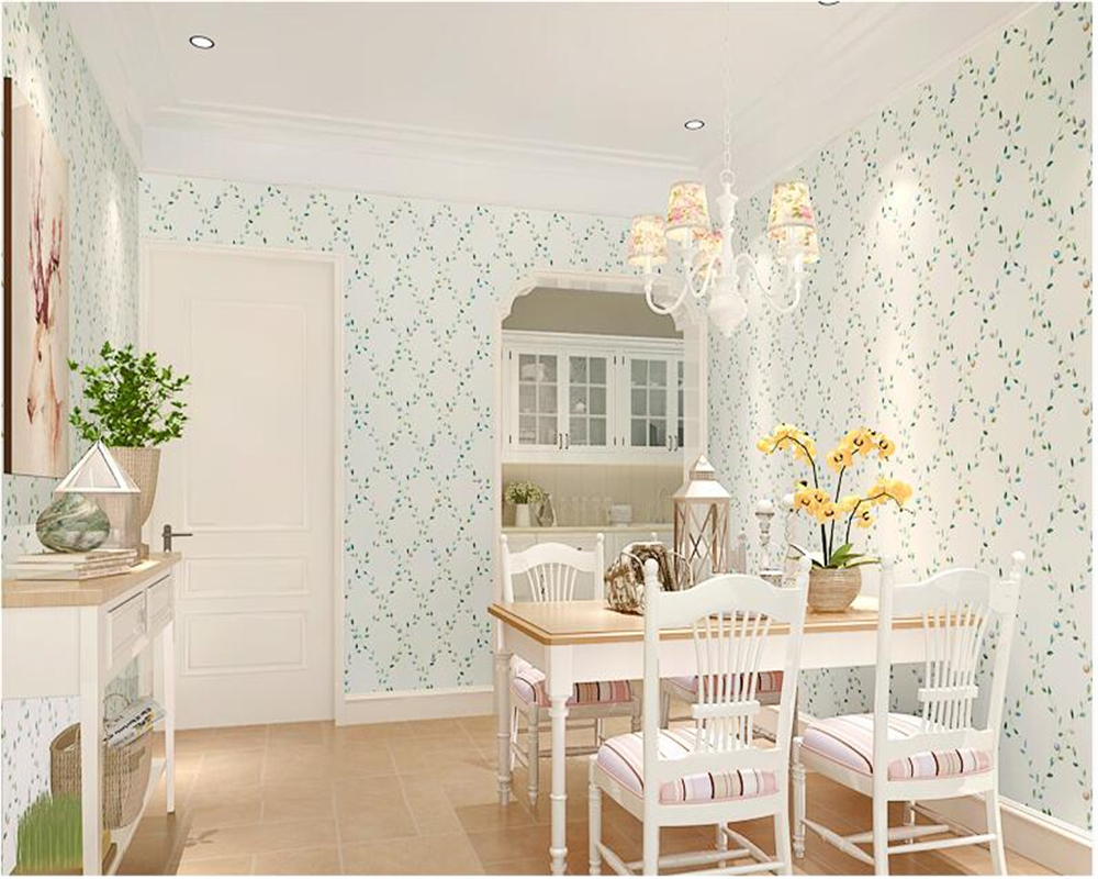 beibehang Stylish personality wall paper garden small floral bedroom living room romantic romantic nonwoven 3d wallpaper tapety beibehang european wall paper tv backdrop nonwoven fabric 3d wallpaper bedroom three dimensional relief big flower type tapety