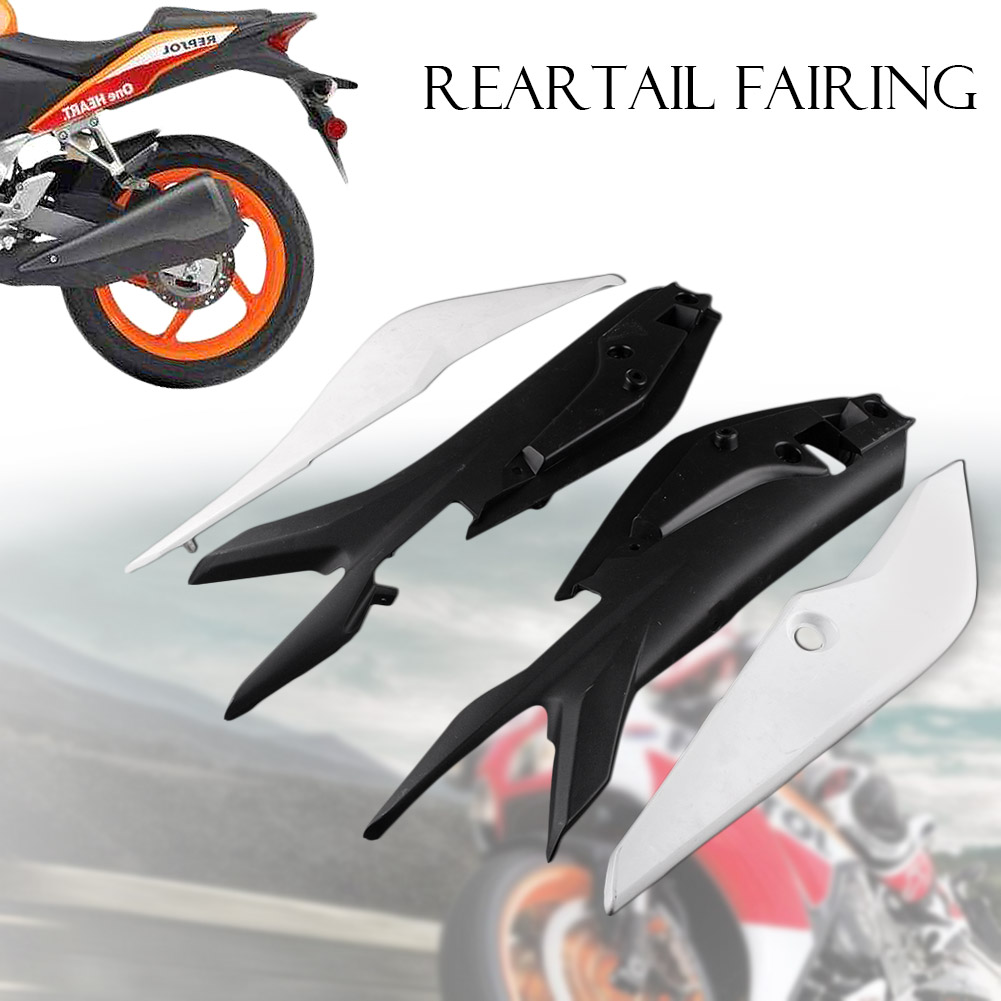 GZYF ABS plastic Unpainted White DIY Motorbike Part for Honda CBR 250RR 2011 Tail Rear Fairing Cover Body kits