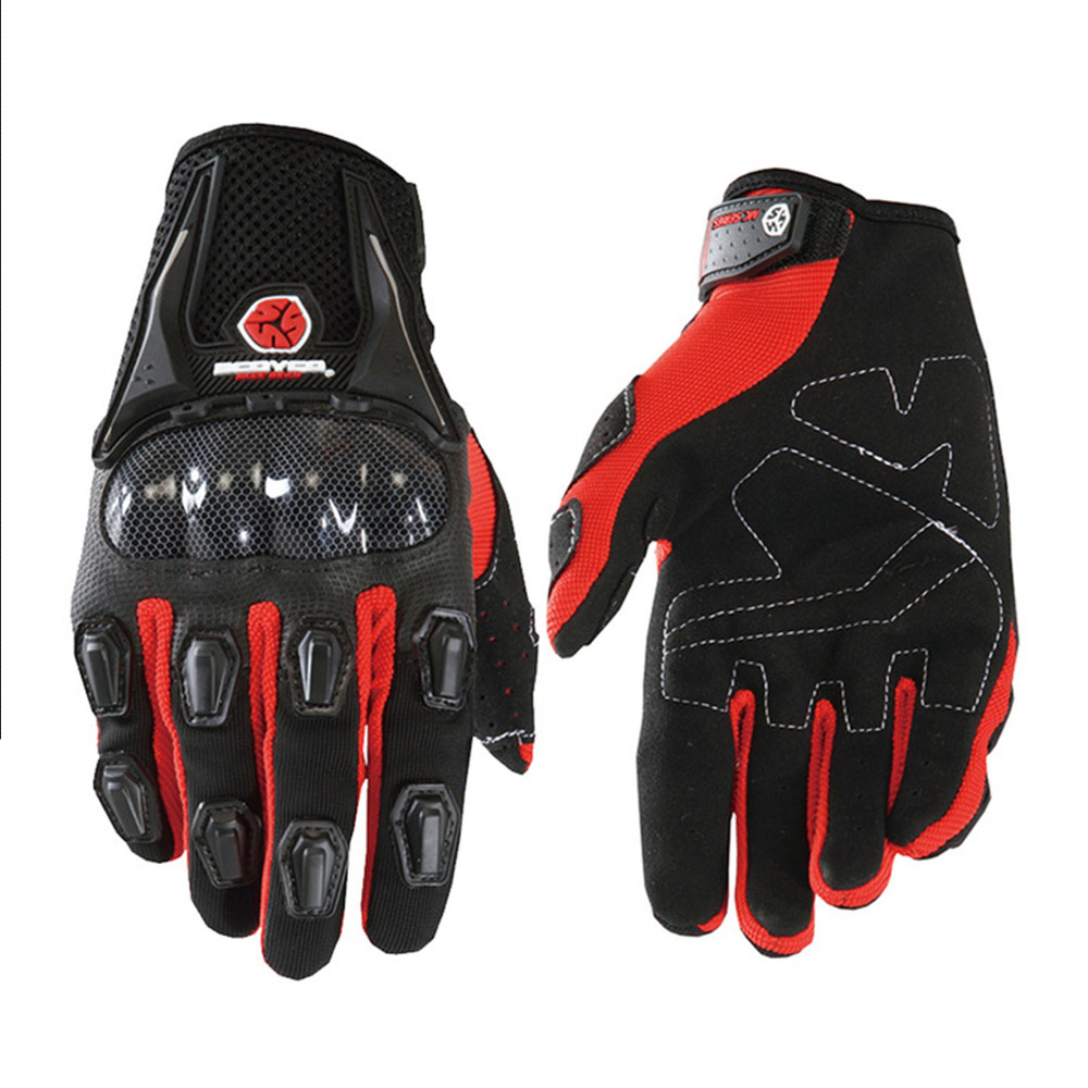 Moto Glove Riding Guantes Full-Finger Women Windproof Man Invierno