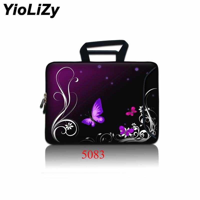 Butterfly 9.7 11.6 13.3 14.4 15.6 17.3 Wanita Tas Kerja Laptop Tablet Case Pria Notebook Lengan Pelindung Tas SBP-5083